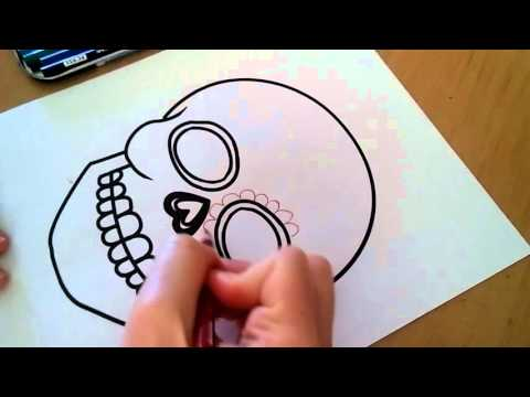 Day of the dead Sugar Skull Designs