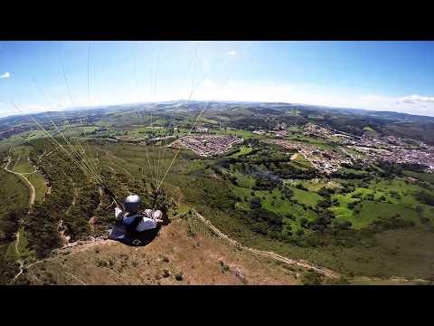 GoPro Paragliding chase cam voo em Baependi