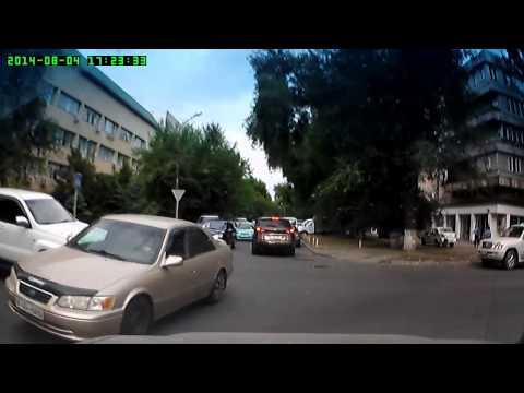 Авария г Алматы