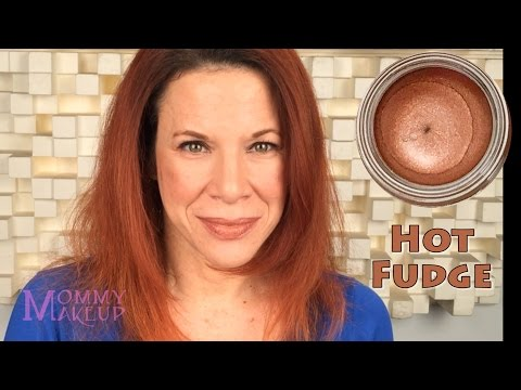 Any Wear Creme in Hot Fudge - A Milk Chocolate Brown with Copper Shimmer - eyeshadow & blush