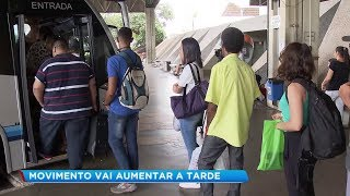 Terminal Rodoviário de Bauru registra grande movimento no feriado de Natal