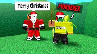 Santa Gives Everyone Murderer in Murder Mystery 2