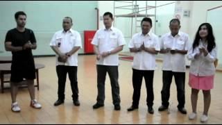 Kunjungan Ketua KONI DKI Jakarta Ke Cabang Squash