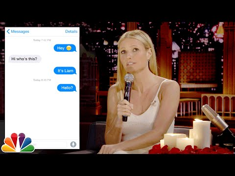 Gwyneth Paltrow & Jimmy Fallon Together For This Hilarious 'Textual Experience' (VIDEO)