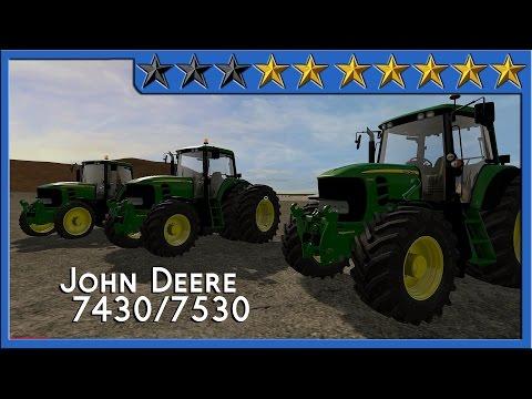 John Deere 7430/7530 Premium by MB3D v1.0