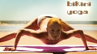 BIKINI YOGA WORKOUT | SUPER POWER STRETCH | BEACH BODY