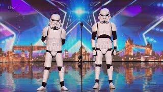 Boogie Storm - Britain's Got Talent 2016 Audition week 5