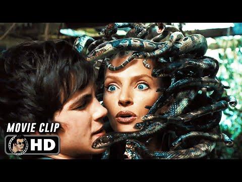 """PERCY JACKSON & THE OLYMPIANS: THE LIGHTNING THIEF Clip - """"Percy Kills Medusa"""" (2010)"""