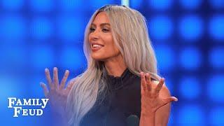 Video Kim & Kanye dress SEXY for THIS! | Celebrity Family Feud MP3, 3GP, MP4, WEBM, AVI, FLV Juni 2018