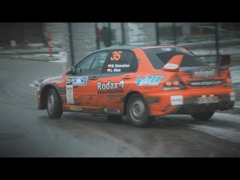 Marcin Słobodzian | Mitsubishi Lancer Evo IX | sezon 2013 | klip