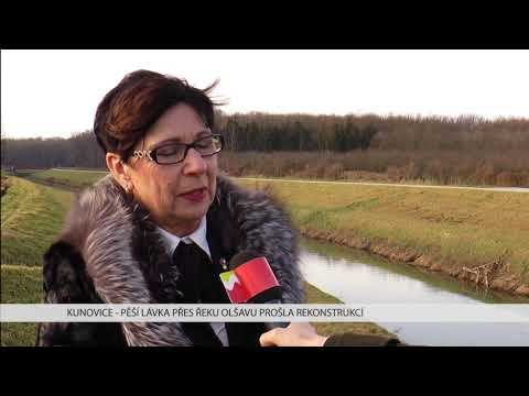TVS: Kunovice - Oprava lávky přes řeku Olšavu