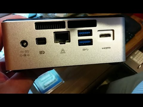NUC5i5RYH Unboxing / Review
