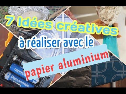 7 idées créatives à réaliser avec le papier Aluminium