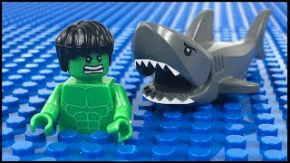 Video LEGO Hulk Shark Attack STOP MOTION LEGO Hulk Fishing Trip | LEGO Hulk | By LEGO Worlds MP3, 3GP, MP4, WEBM, AVI, FLV September 2018