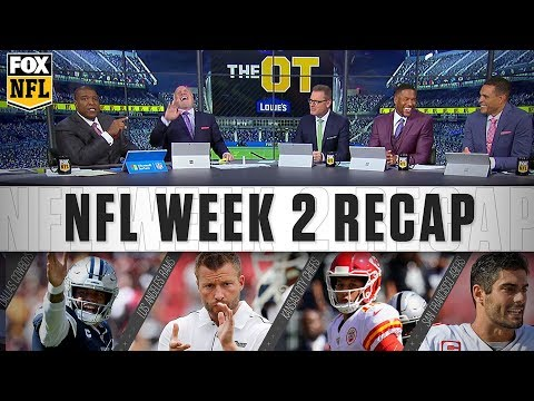 Video: Week 2 Cowboys, Rams, & Chiefs: the crew breaks it down | FOX NFL