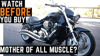 4. Watch BEFORE You Buy! 0-60 mph Suzuki Boulevard M109R Ride, Review, Impressions, Best Muscle Bike?