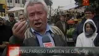 Lucho Barrios en TV Chile