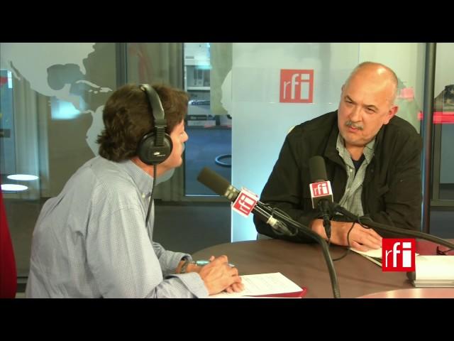 El artista mexicano José Castro Leñero con Jordi Batallé en El invitado de RFI