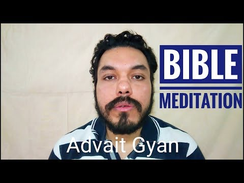 Bible quotes - Bible Meditation Be Still and Know that I am god in hindi