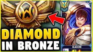 Video I TOOK MY GAREN INTO BRONZE! DIAMOND GAREN ONE TRICK VS BRONZE ELO! - League of Legends MP3, 3GP, MP4, WEBM, AVI, FLV Agustus 2018