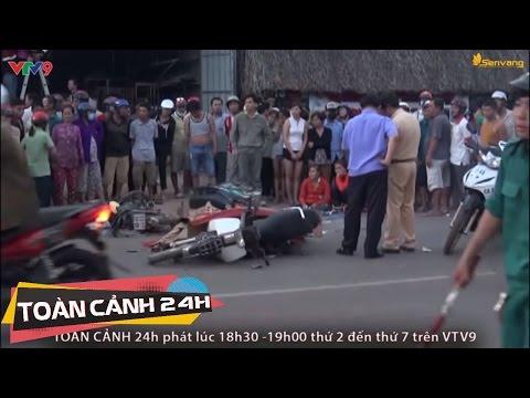 Xe ben tông chết thai phụ cùng con gái, 4 người khác nguy kịch | Toàn Cảnh 24h