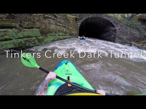 Tinkers Creek Dark Tunnel White Water Kayaking