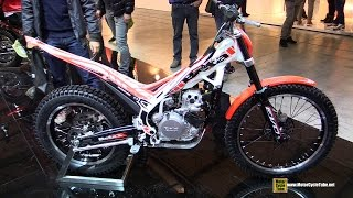 8. 2015 Beta EVO 300 4-Stroke Trial Bike - Walkaround - 2014 EICMA Milan Motorcycle Exhibition