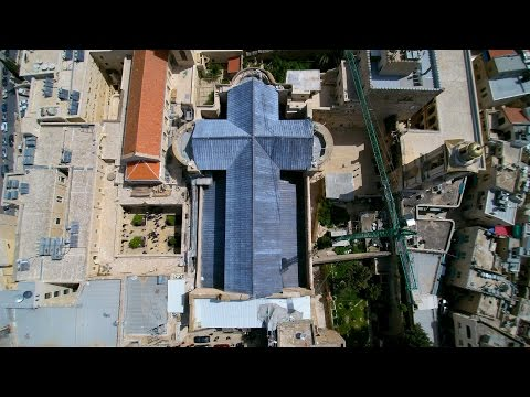 Betheleem by Drone | Church of the Nativity | Birthplace of Jesus