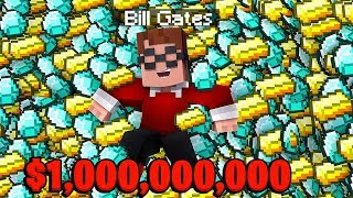 My Best Friend Is The BILL GATES Of Cosmic (5 Billion Dollars) - Minecraft CosmicSky #21   JeromeASF