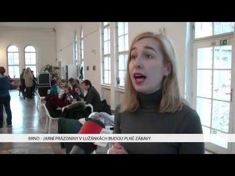 TV Brno 1: 23.1.2017 Jarní prázdniny v Lužánkách budou plné zábavy.