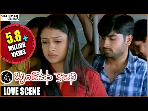 Video 7/G Brindhavan Colony || Ravi Krishna & Sonia Agarwal Love Scene In Bus || Ravi Krishna, Sonia download in MP3, 3GP, MP4, WEBM, AVI, FLV January 2017