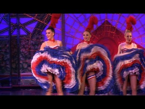 celebrates - The Moulin Rouge, home of the French cancan, celebrates its 125th birthday. Duration: 02:29.