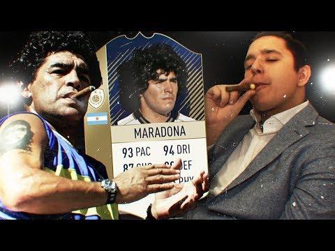 ДИЕГО МАРАДОНА В FIFA 18 (видео)