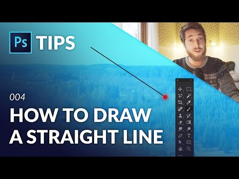 How To Draw A Straight Line In Photoshop