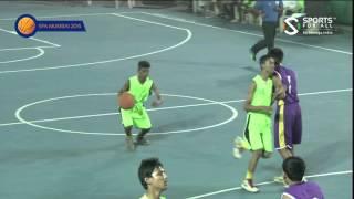 Pantnagar India  city pictures gallery : SFA Mumbai 2015 | Basketball | Fr Agnel vs Pantnagar | U16 | Boys