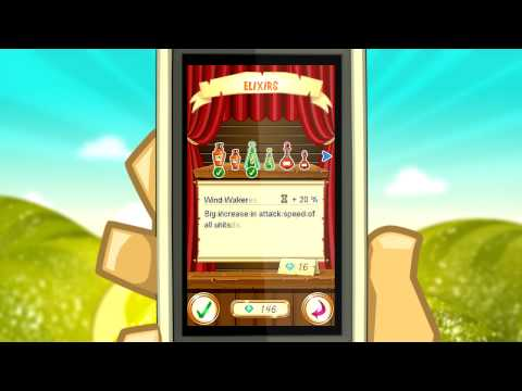 Video of Fantasy Kingdom Defense HD