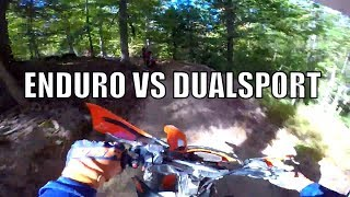 8. The Difference between Enduro and Dual sport Motorcycles