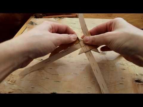 Плетение из бересты видео