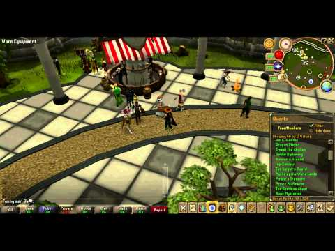 funny runescape bank video - Her is Nightmarerh= http://www.youtube.com/user/NightmareRH Her is my bank and more. :) And don't forget to Subscribe.