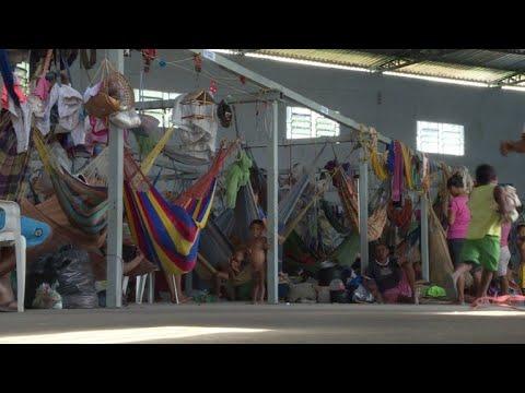 Migración venezolana trastorna ciudad fronteriza de Brasil