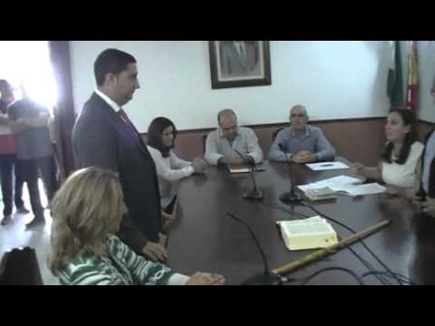 PLENO DE INVESTIDURA EN COLMENAR, JOSE MARTÍN GARCÍA ALCALDE DE COLMENAR