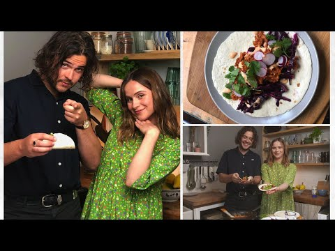Gabrielle Aplin - #FoodWithFriends - Jackfruit Taco's with Joe Keogh (Amber Run)
