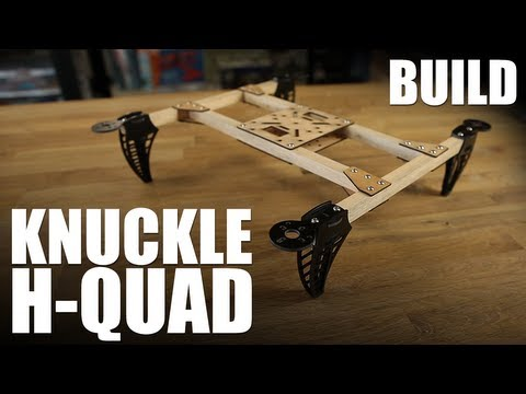 Knuckle - Here's the step by step overview of how to assemble your Knuckle Hub Kit into an H-Quad configuration. More details available here: http://flitetest.com/arti...