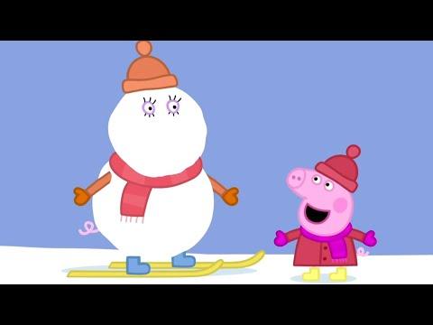 Peppa Pig Português Brasil  A MONTANHA NEVADA 1 HORA  Peppa Pig Feliz Natal Peppa Pig