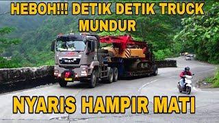 Video HEBOH!!! NYARIS HAMPIR MATI. DETIK DETIK TRUCK MAN MUNDUR  DI SITINJAU LAUIK!!! MP3, 3GP, MP4, WEBM, AVI, FLV Juli 2019