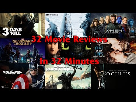 32 Movie Reviews in 32 Minutes