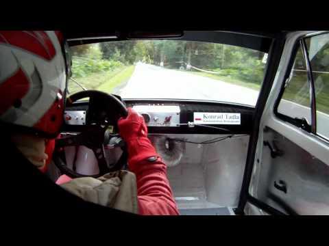 Wypadek - Konrad Tadla - Polski Fiat 126p - IX Runda GSMP - Sienna 2012 - Onboard (HD)
