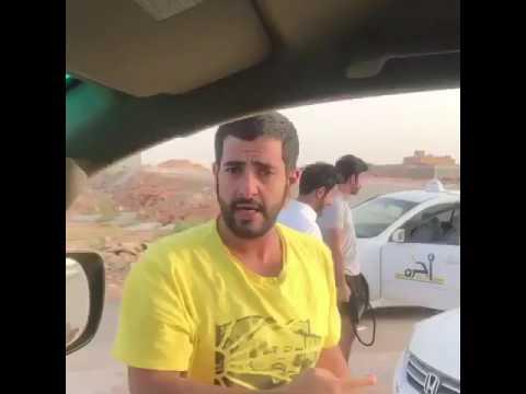 #فيديو .. سعودي يوثق مضاربة على احدى الطرق ..ويفاجأ بما يحدث !!