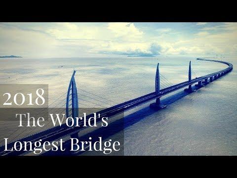 The Longest Bridge in the world 2018 - Hong Kong to Macau and Zhuhai