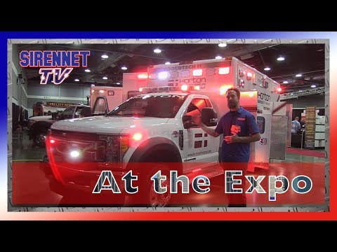 Horton Ambulances At The  Nw Fire & Rescue Expo